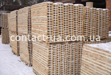 Заготовка дубовая свежепиленная для производства индустриального паркета